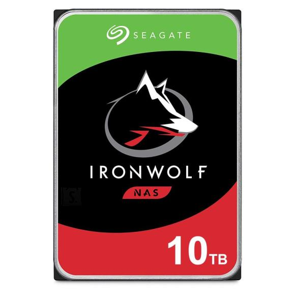 Seagate HDD|SEAGATE|IronWolf|10TB|SATA|256 MB|7200 rpm|Discs/Heads 8/13|3,5"
