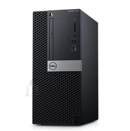 Dell PC|DELL|OptiPlex|7070|Business|MiniTower|CPU Core i9|i9-9900|3100 MHz|RAM 32GB|DDR4|2666 MHz|SSD 512GB|Graphics card Intel UHD Graphics 630|Integrated|EST|Windows 10 Pro|Included Accessories Dell Optical Mouse - MS116, Dell Multimedia Keyboard|N012O7070MT_2