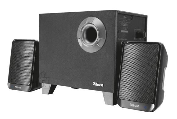 Trust Speaker|TRUST|Evon|Wireless|P.M.P.O. 30 Watts|Bluetooth|Black|21184