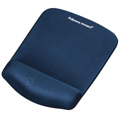 Fellowes MOUSE PAD PLUSHTOUCH/BLUE 9287302 FELLOWES