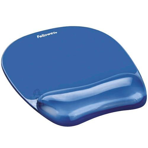 Fellowes MOUSE PAD CRYSTAL GEL/BLUE 9114120 FELLOWES