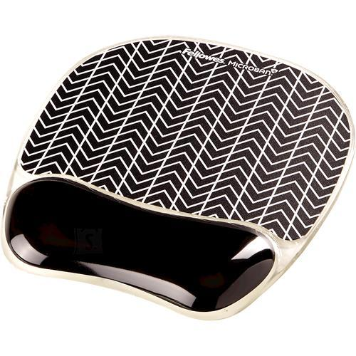 Fellowes MOUSE PAD PHOTO GEL/CHEVRON 9653401 FELLOWES