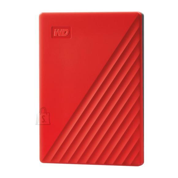 Western Digital External HDD|WESTERN DIGITAL|My Passport|2TB|USB 2.0|USB 3.0|USB 3.2|Colour Red|WDBYVG0020BRD-WESN