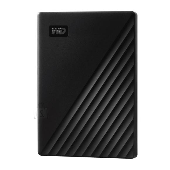 Western Digital External HDD|WESTERN DIGITAL|My Passport|1TB|USB 2.0|USB 3.0|USB 3.2|Colour Black|WDBYVG0010BBK-WESN