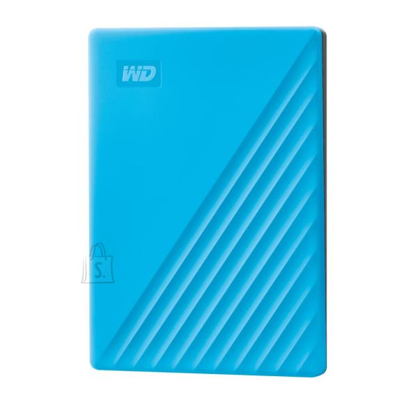 Western Digital External HDD|WESTERN DIGITAL|My Passport|2TB|USB 2.0|USB 3.0|USB 3.2|Colour Blue|WDBYVG0020BBL-WESN