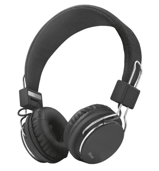 Trust HEADSET ZIVA FOLDABLE/BLACK 21821 TRUST