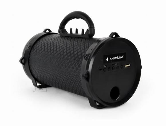 Gembird Portable Speaker|GEMBIRD|Boom|Portable/Wireless|1xMicro-USB|1xMicroSD Card Slot|Bluetooth|Black|SPK-BT-12
