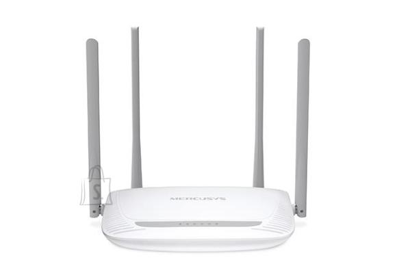 Wireless Router|MERCUSYS|Wireless Router|300 Mbps|IEEE 802.11b|IEEE 802.11g|IEEE 802.11n|1 WAN|3x10/100M|Number of antennas 4|MW325R