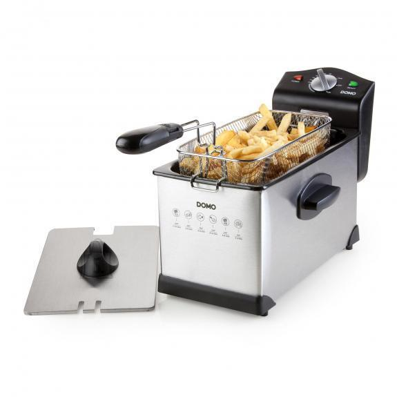 DEEP FRYER 3L 2000W/STEEL DO514FR DOMO