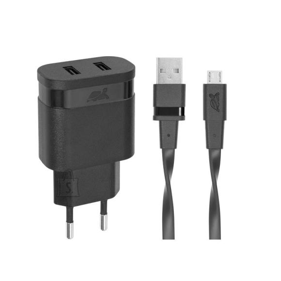 MOBILE CHARGER WALL/BLACK PS4123 BD1 RIVACASE
