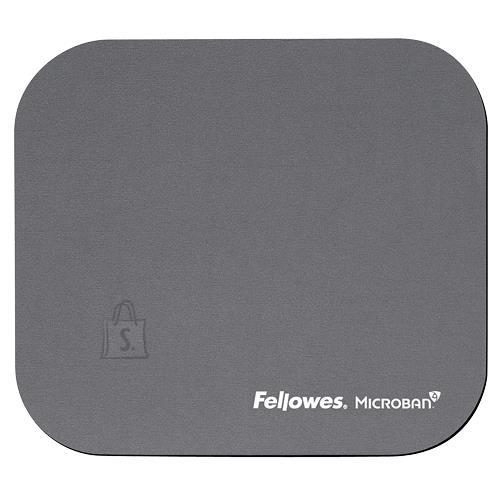Fellowes MOUSE PAD MICROBAN/SILVER 5934005 FELLOWES