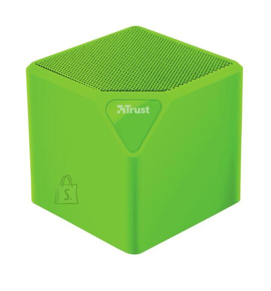 Trust Portable Speaker|TRUST|Primo|Portable/Wireless|1xAudio-In|1xUSB 2.0|1xMicroSD Card Slot|Bluetooth|Green|22481