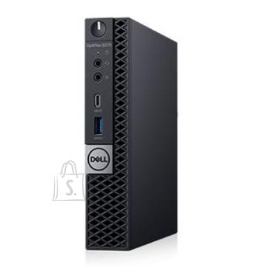 Dell PC|DELL|OptiPlex|5070|Business|Micro|CPU Core i5|i5-9500T|2200 MHz|RAM 8GB|DDR4|2666 MHz|SSD 256GB|Graphics card  Intel UHD Graphics 630|Integrated|ENG|Windows 10 Pro|Included Accessories Dell Optical Mouse - MS116; Dell Wired Keyboard KB216 Black|N005O5070MFF_1