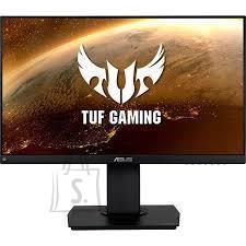 """Asus LCD Monitor ASUS TUF GAMING VG24VQ 23.6"""" Gaming/Curved Panel VA 1920x1080 144 Hz 1 ms Speakers Swivel Pivot Height adjustable Tilt Colour Black 90LM0570-B01170"""