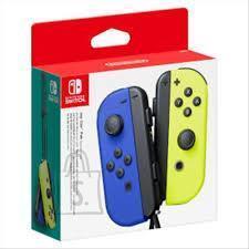 Nintendo CONSOLE ACC CONTROLLER PAIR/JOY-COM B/Y 10002919 NINTENDO