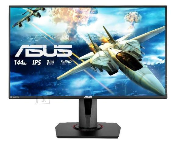"Asus LCD Monitor ASUS VG279Q 27"" Gaming Panel IPS 1920x1080 16:9 144Hz 1 ms Speakers Swivel Pivot Height adjustable Tilt Colour Black 90LM04G0-B01370"