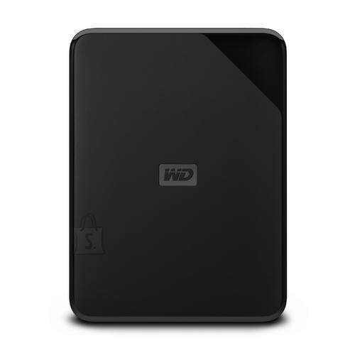 Western Digital External HDD|WESTERN DIGITAL|Elements Portable SE|4TB|USB 3.0|Colour Black|WDBJRT0040BBK-WESN