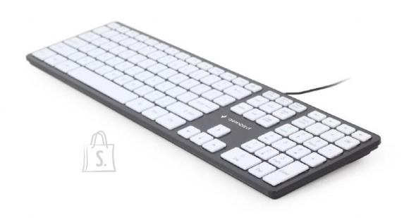 Gembird KEYBOARD MULTIMEDIA USB ENG/CHOCOL. KB-MCH-02-BKW GEMBIRD