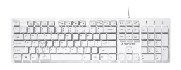 Gembird KEYBOARD MULTIMEDIA USB ENG/CHOCOLATE KB-MCH-03-W GEMBIRD