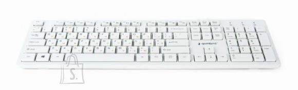 Gembird KEYBOARD MULTIMEDIA USB RUS/CHOCOL. KB-MCH-03-W-RU GEMBIRD