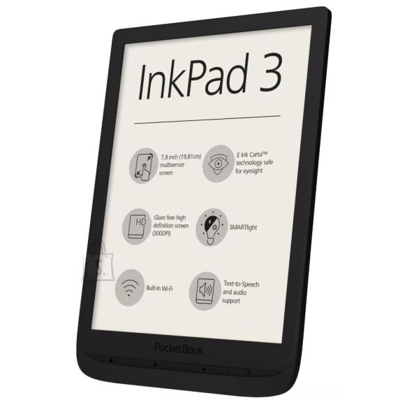 "PocketBook E-Reader POCKETBOOK InkPad 3 7.8"" 1872x1404 Memory 8192 MB 1xAudio-Out 1xMicro-USB Micro SD Wireless LAN 802.11b/g/n Black PB740-E-WW"
