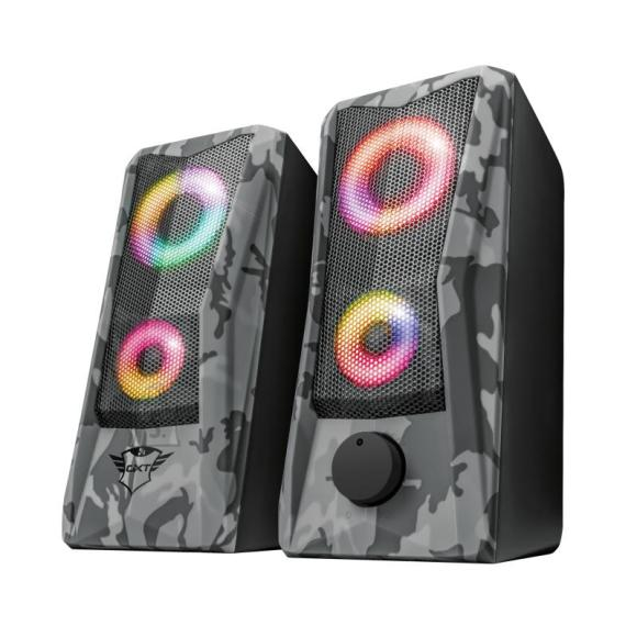 Trust Speaker|TRUST|GXT 606 Javv RGB-Illuminated|P.M.P.O. 12 Watts|1xAudio-In|23379