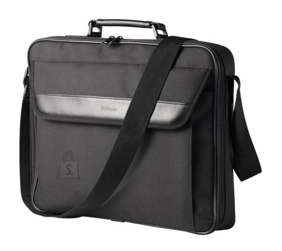 "Trust NB CASE ATLANTA 16"" BLACK/21080 TRUST"