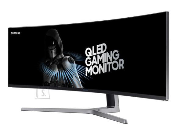 "Samsung LCD Monitor|SAMSUNG|C49HG90DMU|49""|Gaming/Curved|Panel VA|3840x1080|32:9|144Hz|1 ms|Swivel|Height adjustable|Tilt|Colour Black|LC49HG90DMUXEN"