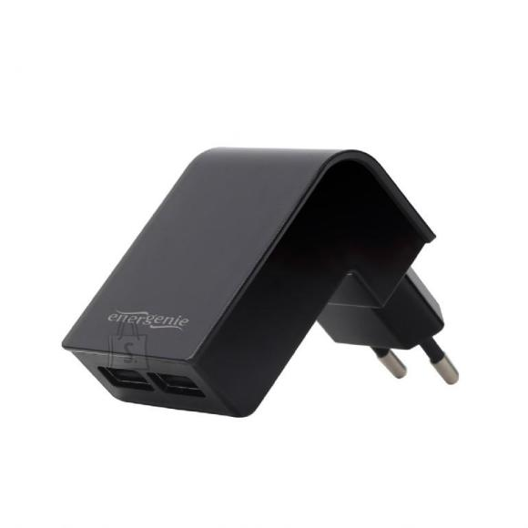 Gembird CHARGER USB UNIVERSAL BLACK/2PORT EG-U2C2A-02 GEMBIRD