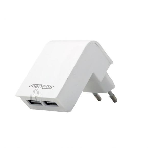 Gembird CHARGER USB UNIVERSAL WHITE/2PORT EG-U2C2A-02-W GEMBIRD