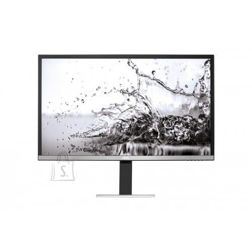 "AOC LCD Monitor|AOC|U3277PWQU|31.5""|Business/4K|Panel MVA|3840x2160|16:9|4 ms|Swivel|Pivot|Height adjustable|Tilt|Colour Black / Silver|U3277PWQU"