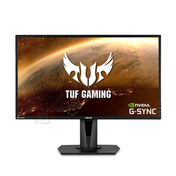 "Asus LCD Monitor ASUS VG27AQ 27"" Gaming Panel IPS 2560x1440 16:9 165Hz 1 ms Speakers Swivel Pivot Height adjustable Tilt Colour Black 90LM0500-B01370"