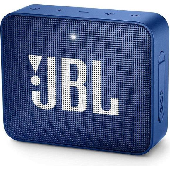 JBL Portable Speaker|JBL|GO 2|Portable/Waterproof/Wireless|1xMicro-USB|1xStereo jack 3.5mm|Bluetooth|Blue|JBLGO2BLU