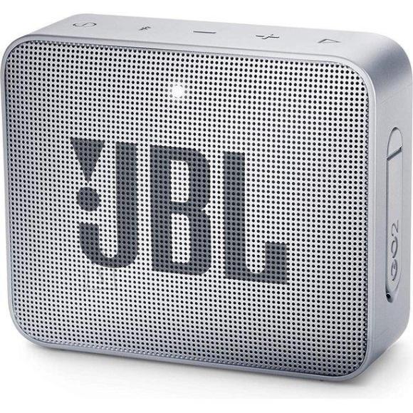JBL Portable Speaker JBL GO 2 Portable/Waterproof/Wireless 1xMicro-USB 1xStereo jack 3.5mm Bluetooth Grey JBLGO2GRY