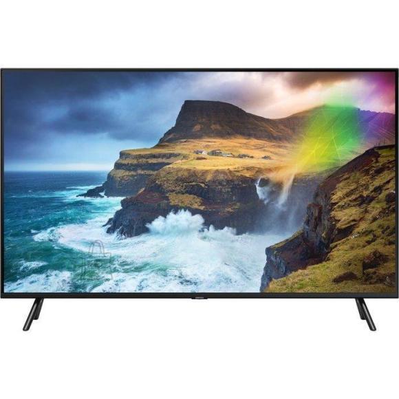 "Samsung TV Set SAMSUNG 4K/Smart 65"" QLED 3840x2160 Wireless LAN Bluetooth Wi-Fi Direct Tizen Colour Black QE65Q70RATXXH"