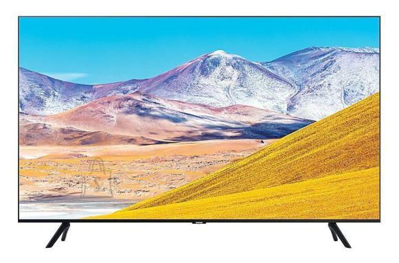 "Samsung TV Set|SAMSUNG|4K/Smart|65""|3840x2160|Wireless LAN|Bluetooth|Tizen|Colour Black|UE65TU8002KXXH"