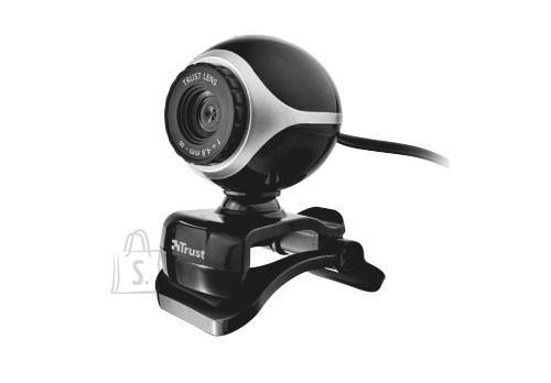Trust CAMERA WEBCAM USB2 EXIS/BLACK/SILVER 17003 TRUST