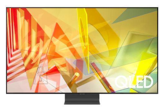 "Samsung TV Set SAMSUNG 4K/Smart 55"" QLED 3840x2160 Wireless LAN Bluetooth Tizen Colour Silver QE55Q95TATXXH"