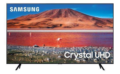 "Samsung TV Set|SAMSUNG|4K/Smart|55""|3840x2160|Wireless LAN|Bluetooth|Tizen|Colour Black|UE55TU7002KXXH"