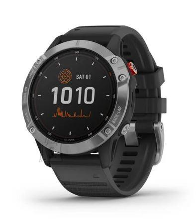 Garmin SMARTWATCH FENIX 6 SOLAR/BLACK 010-02410-00 GARMIN