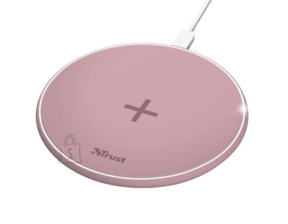 Trust Juhtmevaba laadija mobiiltelefonile 23866 TRUST, roosa
