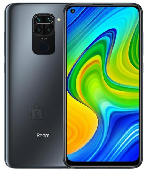 Xiaomi MOBILE PHONE REDMI NOTE 9/128GB BLACK MZB07Y8EU XIAOMI