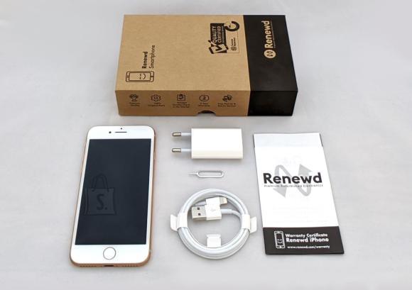 MOBILE PHONE IPHONE 8 64GB/GOLD RND-P80364 APPLE RENEWD