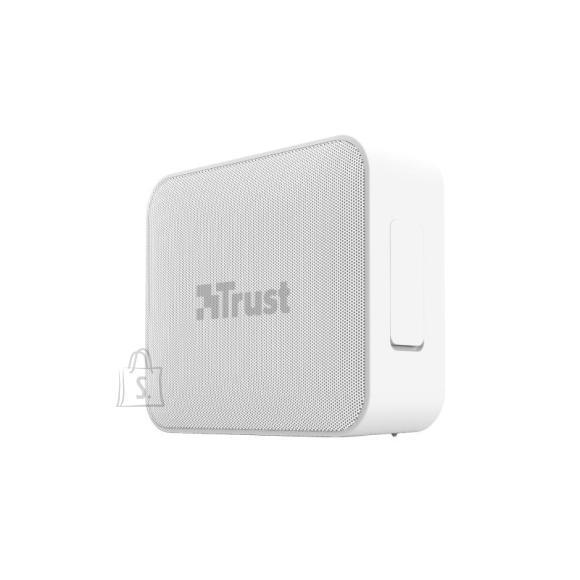 Trust Portable Speaker|TRUST|Portable/Waterproof/Wireless|1xMicro-USB|1xStereo jack 3.5mm|1xSD Card Slot|Bluetooth|White|23779