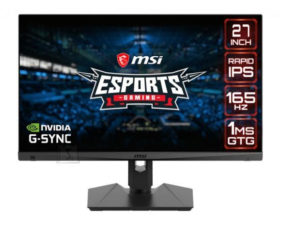 "MSI LCD Monitor MSI Optix MAG274QRF 27"" Gaming Panel IPS 2560x1440 16:9 165Hz Matte 1 ms Swivel Pivot Height adjustable Tilt OPTIXMAG274QRF"