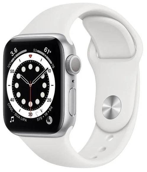 Apple SMARTWATCH SERIES SE 40MM/SILVER/WHITE MYDM2 APPLE