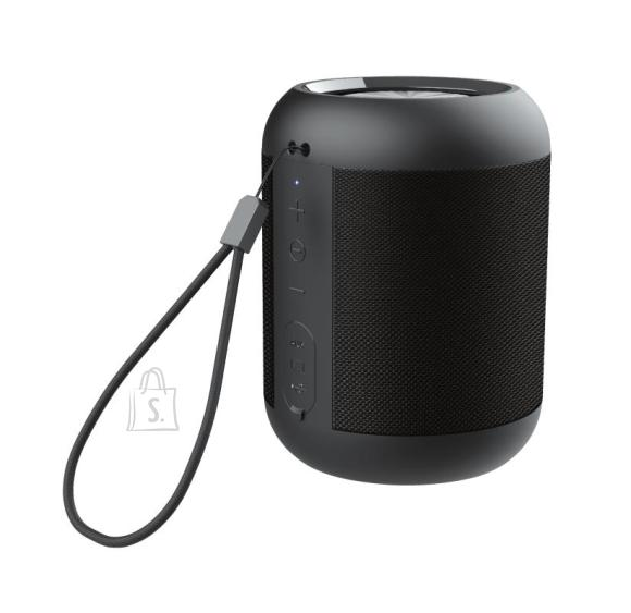 Trust Portable Speaker|TRUST|Rokko|Portable/Waterproof/Wireless|1xMicro-USB|1xStereo jack 3.5mm|1xSD Card Slot|Bluetooth|Black|23549