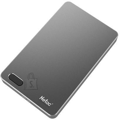 External HDD NETAC NT05K391F-002T-30GR 2TB USB 3.0 Buffer memory size 8 MB Colour Iron NT05K391F-002T-30GR