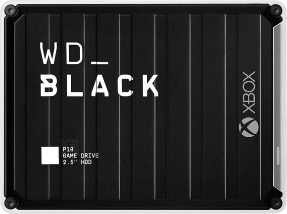 Western Digital External HDD|WESTERN DIGITAL|Black|4TB|USB 3.2|Colour Black|WDBA5G0040BBK-WESN