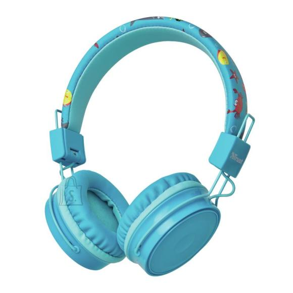 Trust HEADSET COMI BT KIDS WRL/BLUE 23607 TRUST